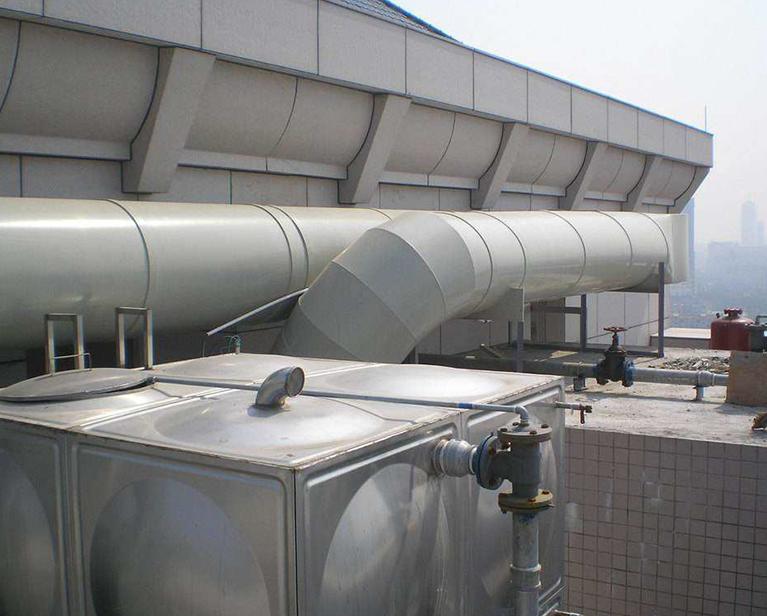 螺旋风管的安装原理