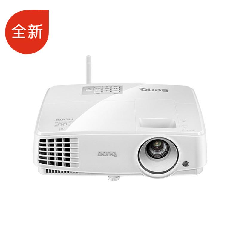全新 明基(BenQ)E500JD 办公智能投影机(3300流明标清U盘直读手机无线投影)