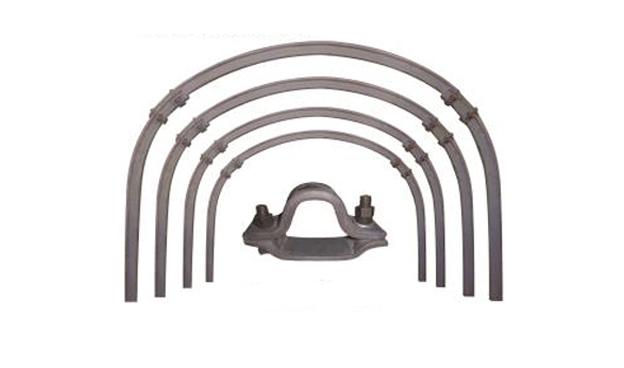 u型钢支架卡缆