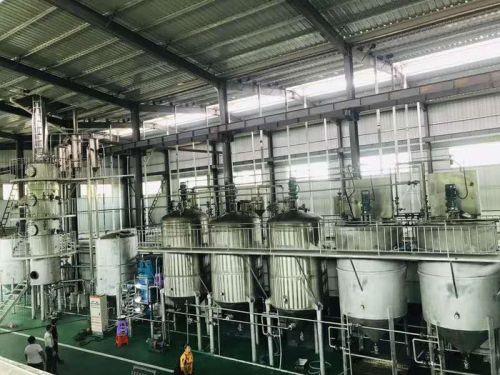 河南精炼油设备