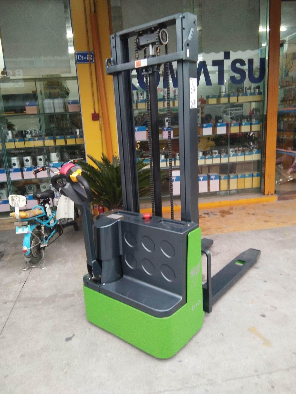 【签约】黄埔区海松机械配件有限公司与我司丰源成功签约一台电动托盘堆垛车