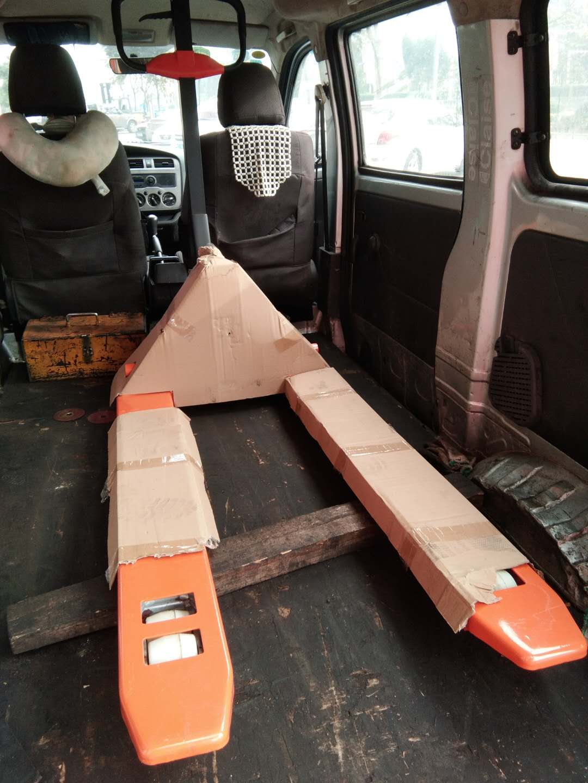 【签约】东莞市银禧光电材料科技股份有限公司再次在我司采购一台手动搬运车
