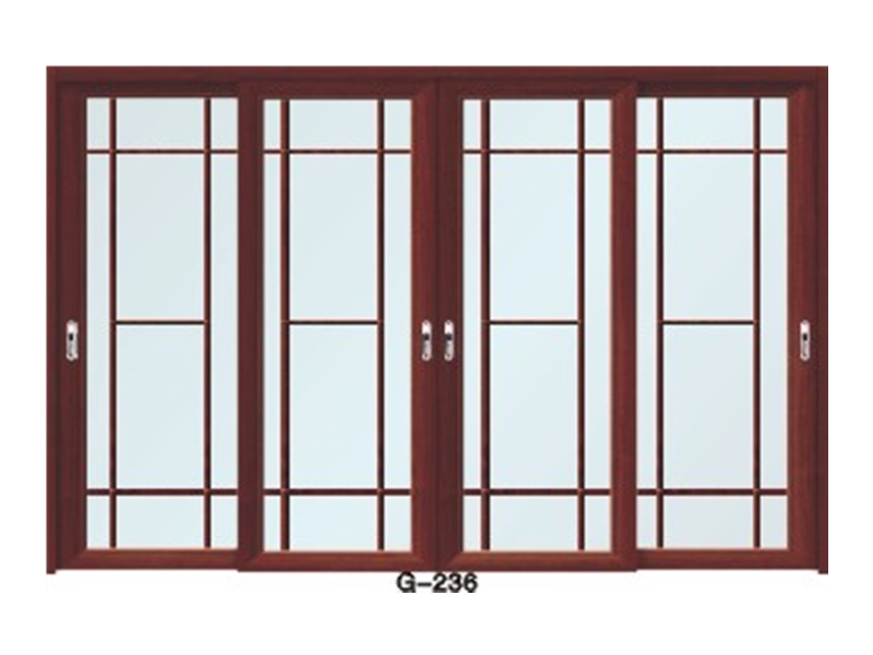 实木门玻璃门 G-236