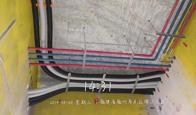 福州马尾区儒江东路不锈钢管家装案例