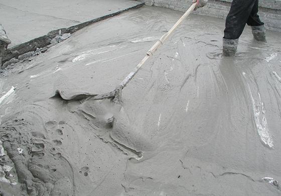 轻集料混凝土垫层