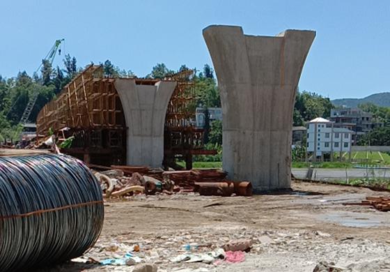 桥梁泡沫混凝土回填