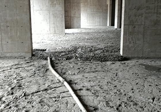 南安石井绿地鹭城室内回填