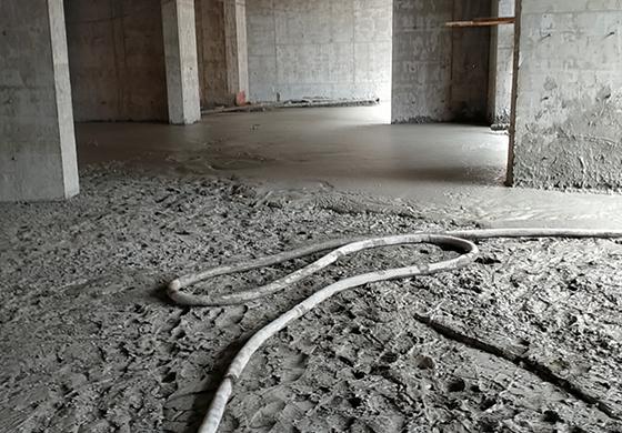 南安石井绿地鹭城室内泡沫混凝土回填