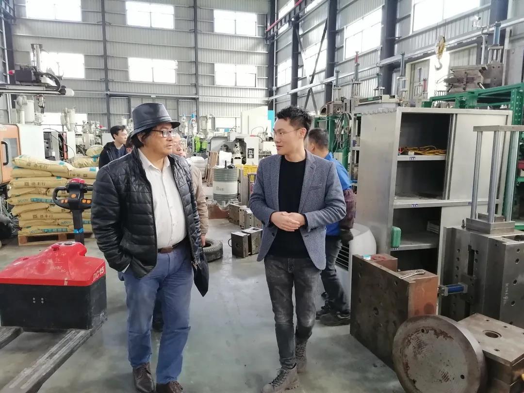 福建省農科院領導蒞臨我司工廠調研