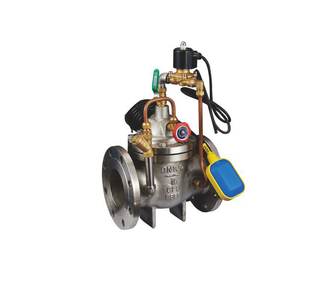 107X-16水力電動浮球閥