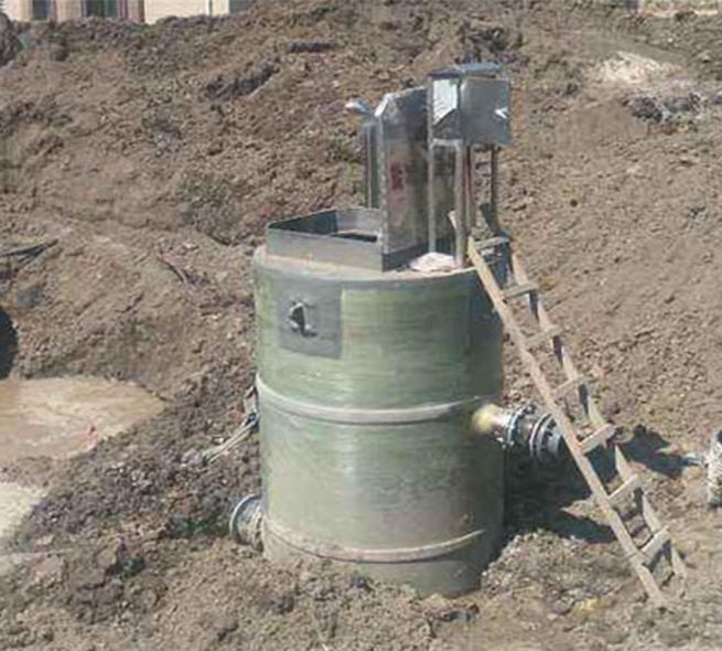 智能型箱泵一體化泵站