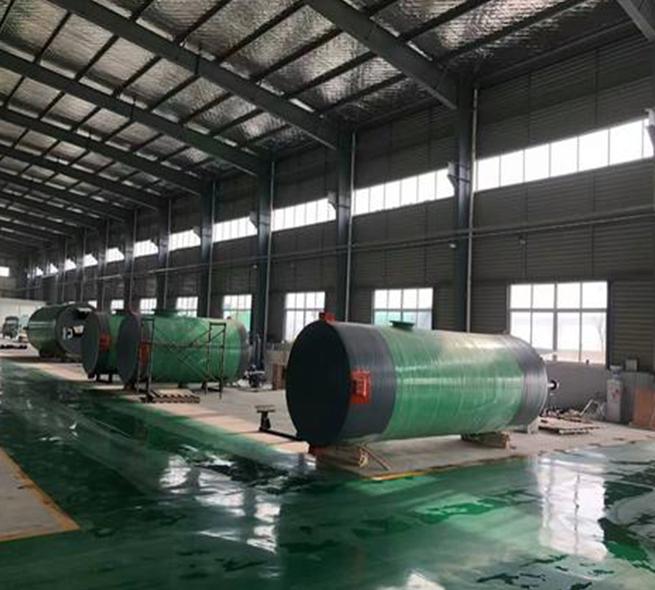 玻璃鋼一體化泵站