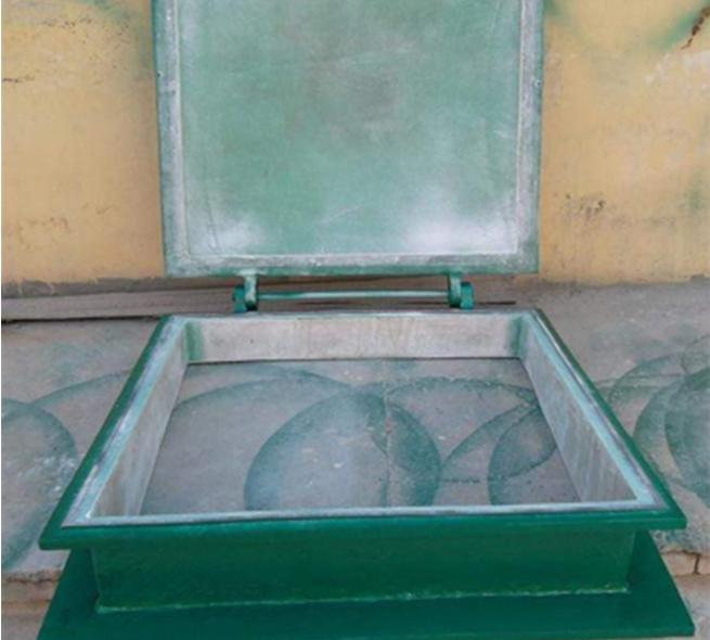 方形鑄鐵拍門