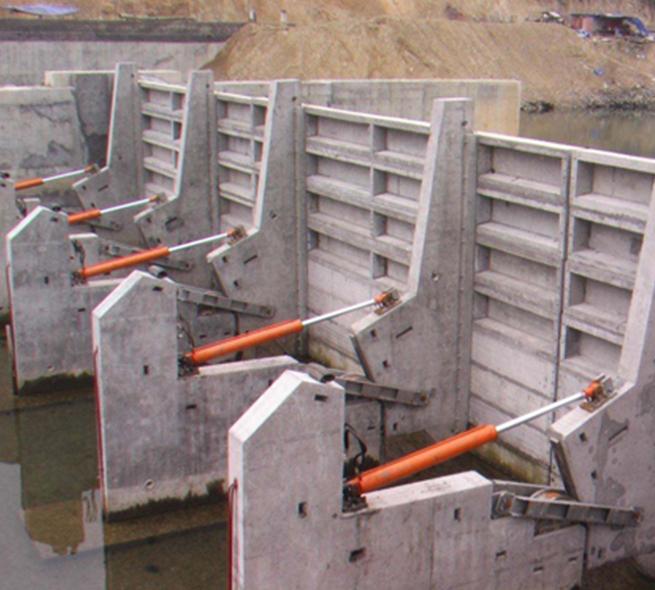福建液壓鋼壩閘門