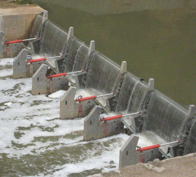 福建機閘一體鋼閘門