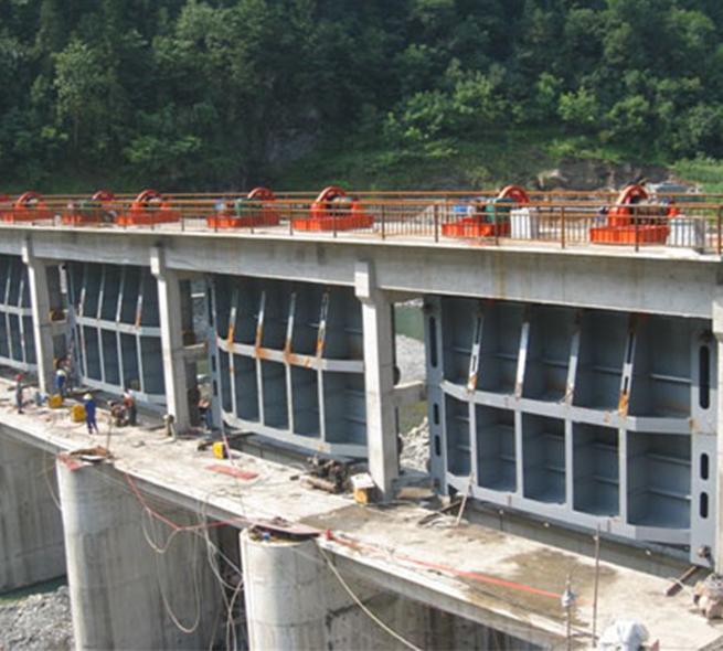 水庫鋼制閘門