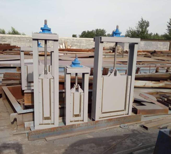 電動鋼制閘門