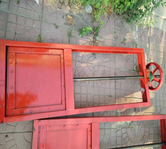 手提式鑄鐵閘門