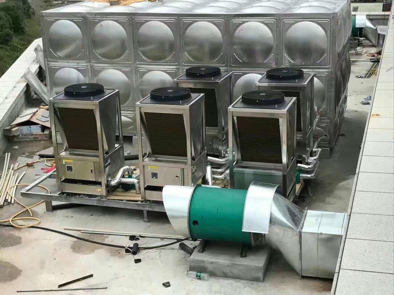 福州不锈钢水箱安装现场!