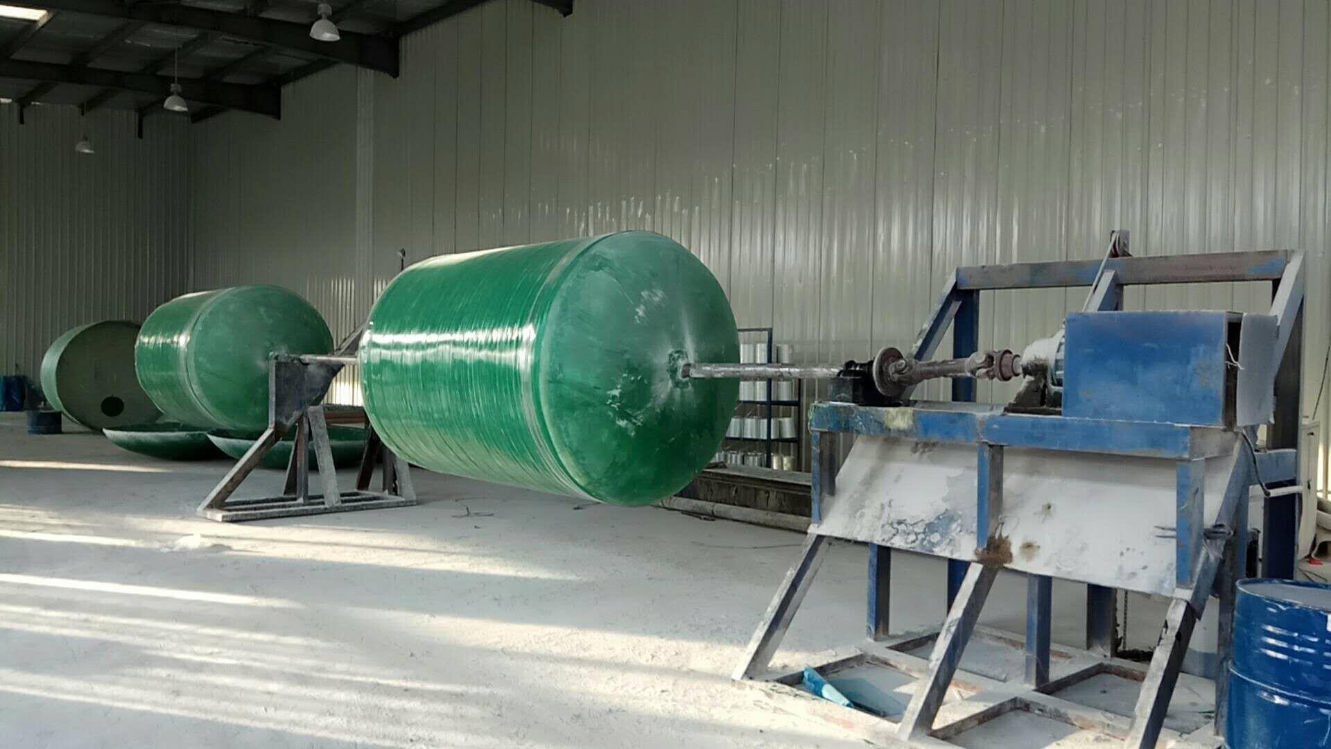 模压玻璃钢化粪池