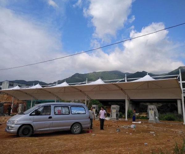 新能源充电桩车棚