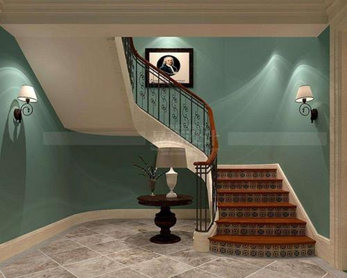 实木楼梯设计厂家