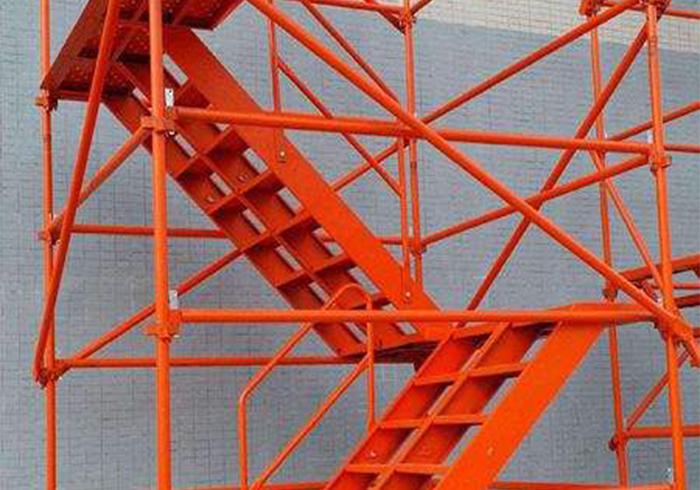 墩柱平台式安全梯笼