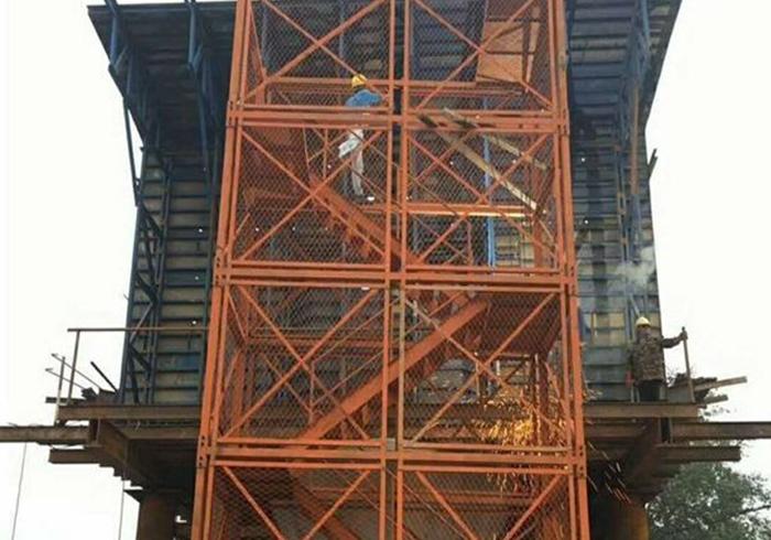组合式安全梯笼