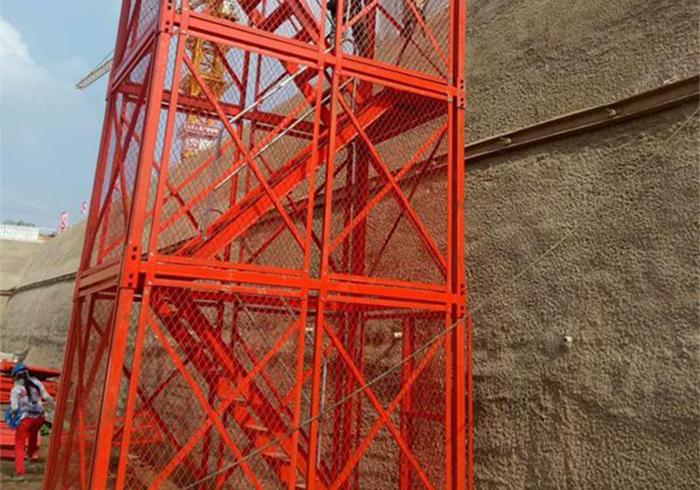 边框架式组合梯笼