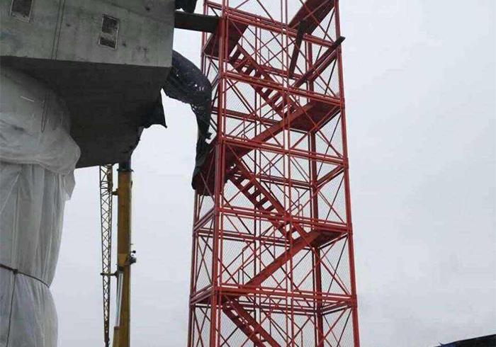 施工安全爬梯笼