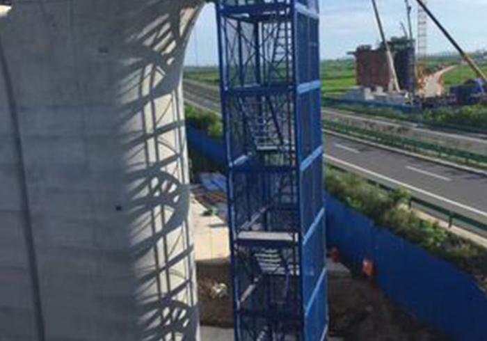 钢直梯护笼