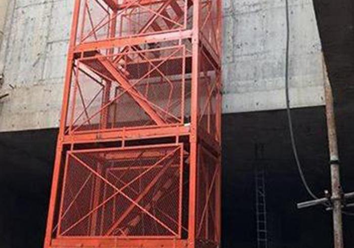 地铁基坑重型梯笼