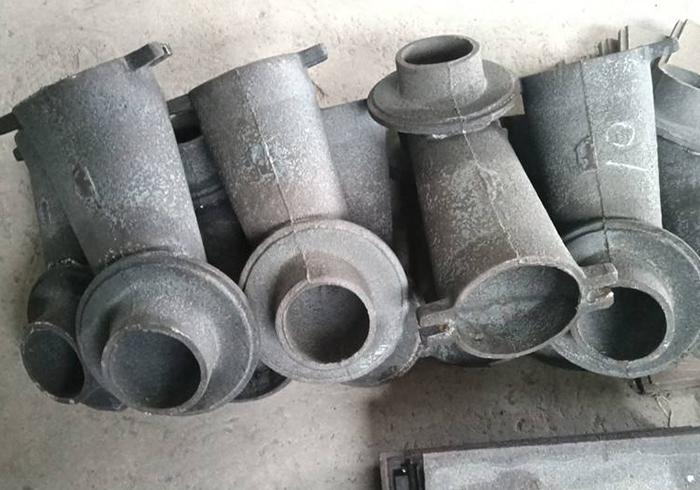 组装钢构件