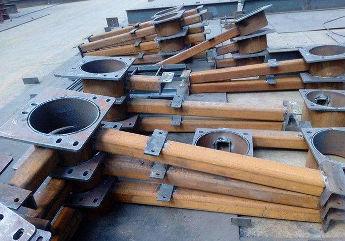 钢模板钢构件