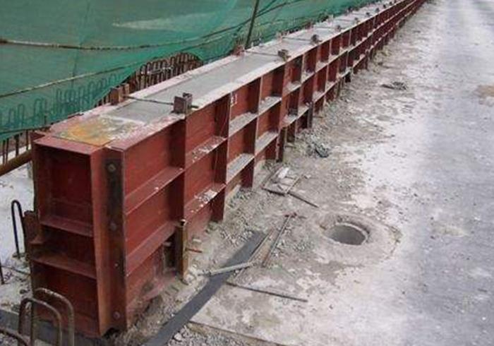 防撞护栏模板