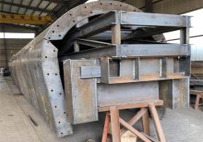 二衬模板钢体结构配件