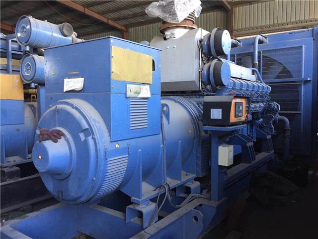 日本三菱1200KW柴油发电机组