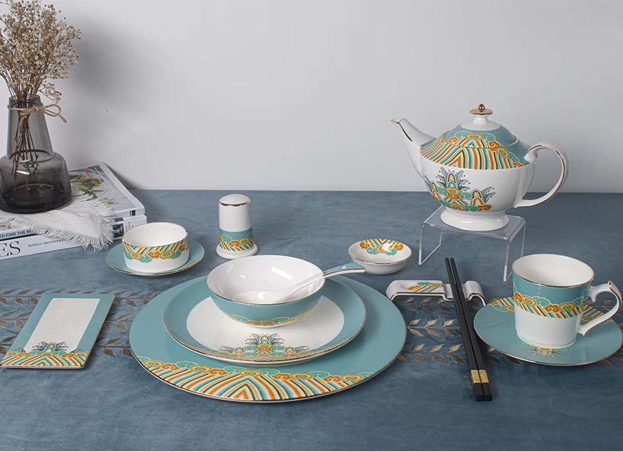酒店陶瓷餐具