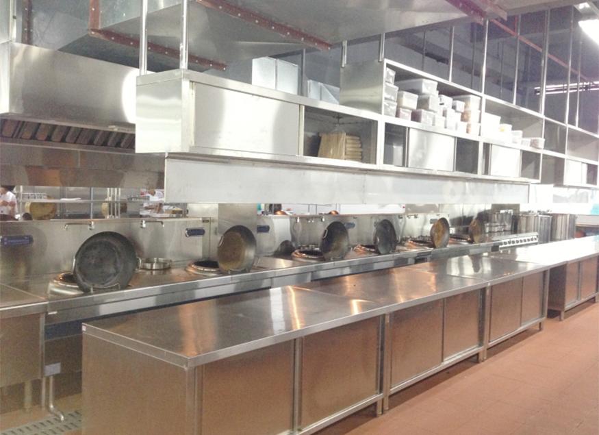 酒店厨房锅灶用品案例