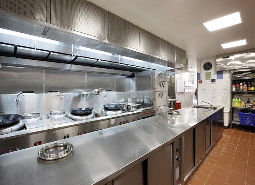 酒店厨房工程设备案例