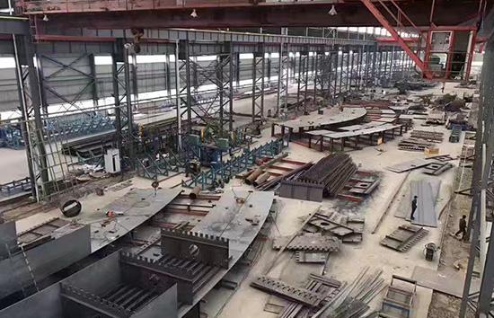 强晟钢构厂