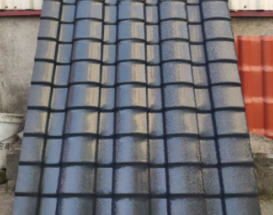 屋顶小青瓦
