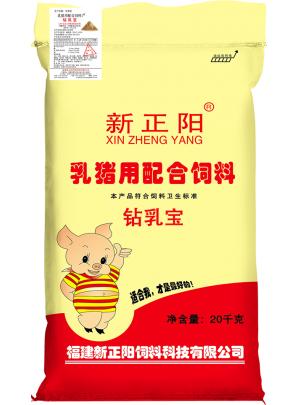乳猪用配合饲料1#(钻乳宝、金乳宝)