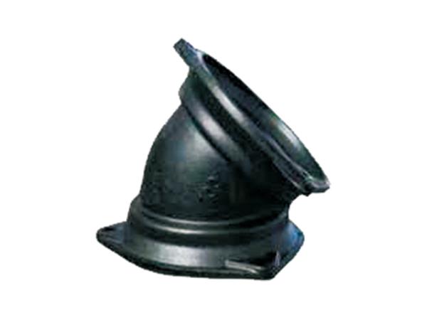 铸铁排水管B型配件45°门弯