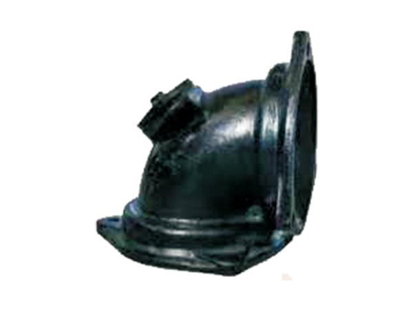 铸铁排水管B型配件90°门弯