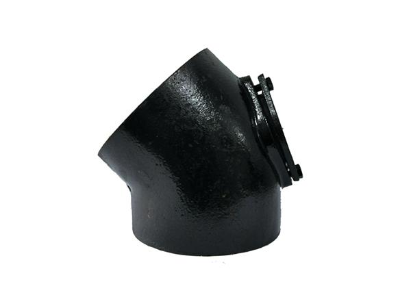 铸铁排水管W型配件45°门弯