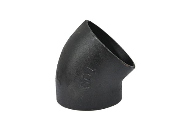 铸铁排水管W型配件45°弯