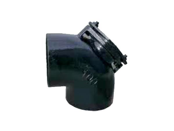 铸铁排水管W型配件90°门弯