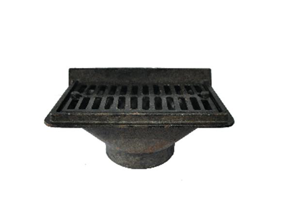 铸铁排水管W型配件侧排地漏/承插地漏