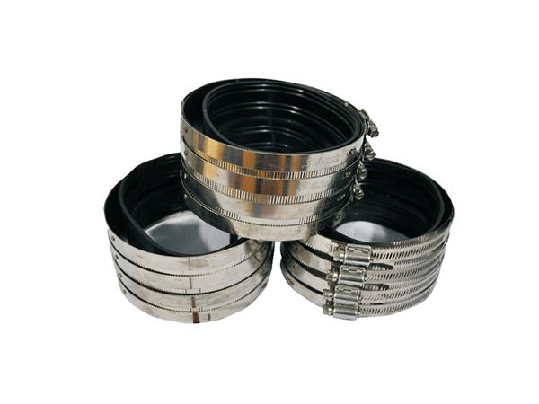 铸铁排水管W型配件卡箍
